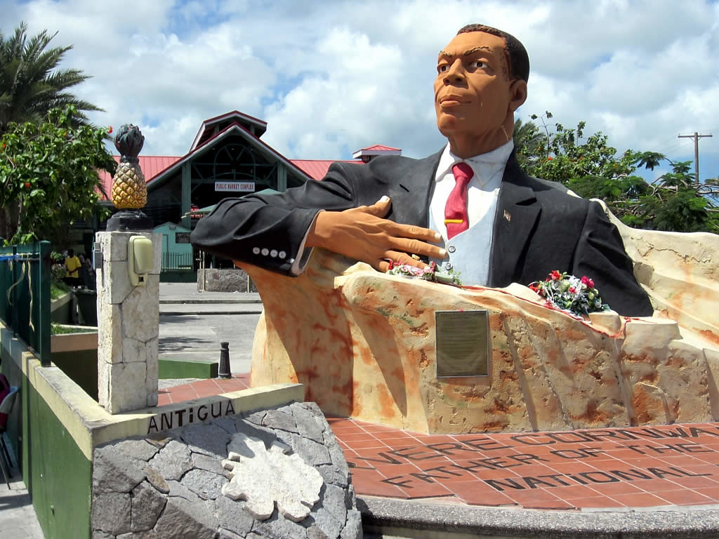 Bust of Sir VC Bird Sr...