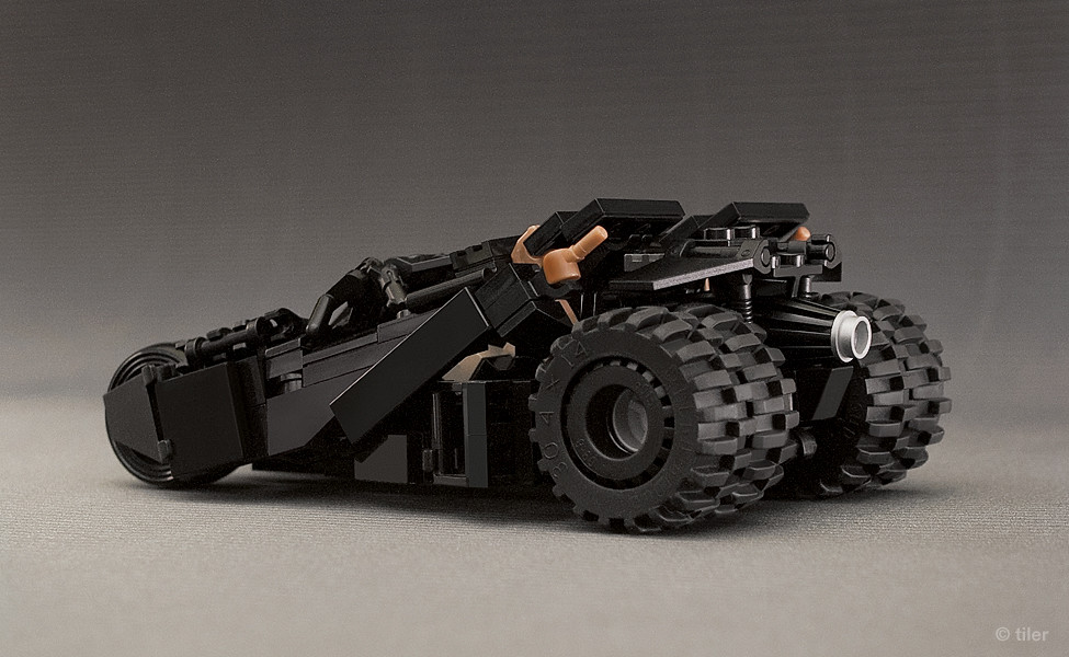 Batman Lego Tumbler V 2 Second Version Of My Minifig