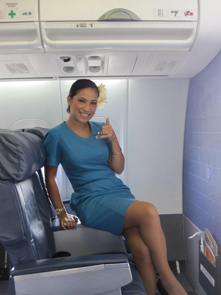 hawaiian airlines stewardess jimc15 flickr