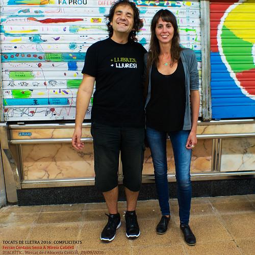 Ferran Cerdans Serra i Mireia Calafell, Tocats de Lletra 2016