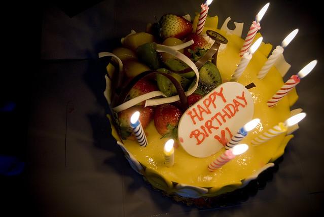 Birthday Cake Health Hazards