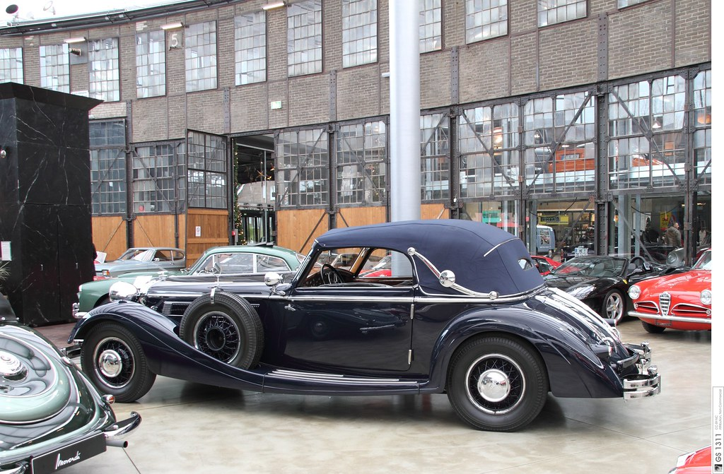 1935 Horch 853 Sport Cabriolet 07 Horch Was A Car