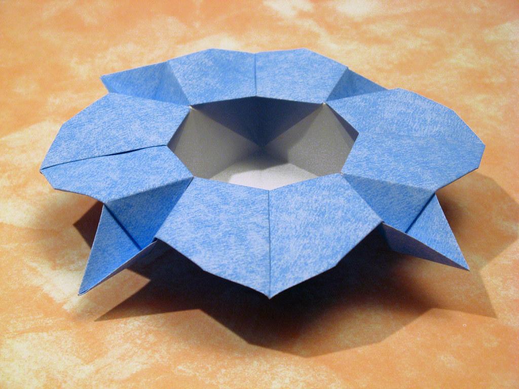 Scatola a fiore 2 - Flower Box 2 | Tecnica: origami, con ... - photo#35