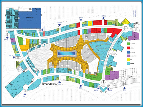 Site Plan The Site Plan Of Mall Of Arabia Cairo Mall