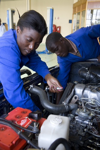 The Windhoek Vocational Training Centre in Khomasdal | by World Bank Photo Collection