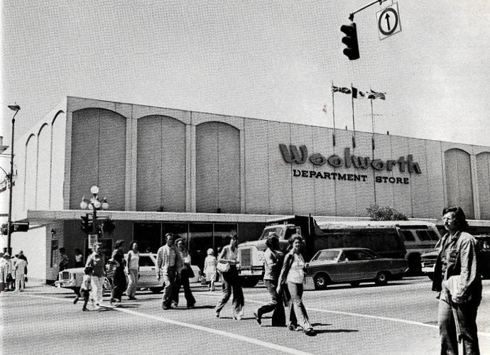 victoria woolworth store  c 1977