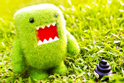 Domo loves green | by m4calliope