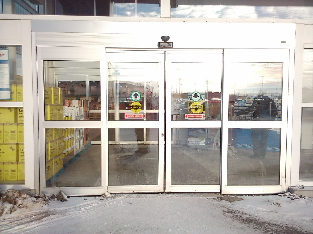 Stanley automatic sliding doors jacobhursh for Stanley doors