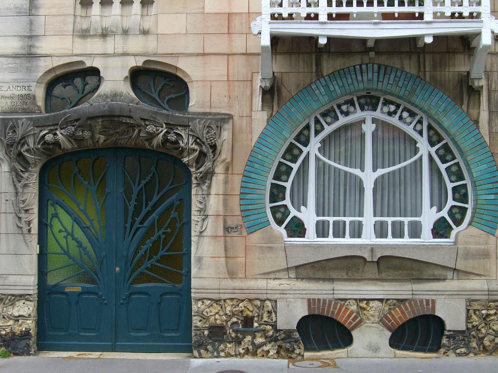 Maisons huot 92 92bis quai claude le lorrain nancy 54 - Art nouveau architecture de barcelone revisitee ...