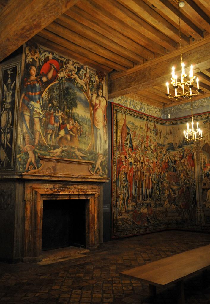 la chambre du roi ch teau d 39 ecouen val d 39 oise philippe 28 flickr. Black Bedroom Furniture Sets. Home Design Ideas