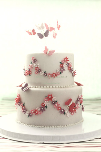 butterfly fondant cakes