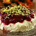 Cashew-Pumpkin Seed Cheese with Apple-Cranberry Sauce