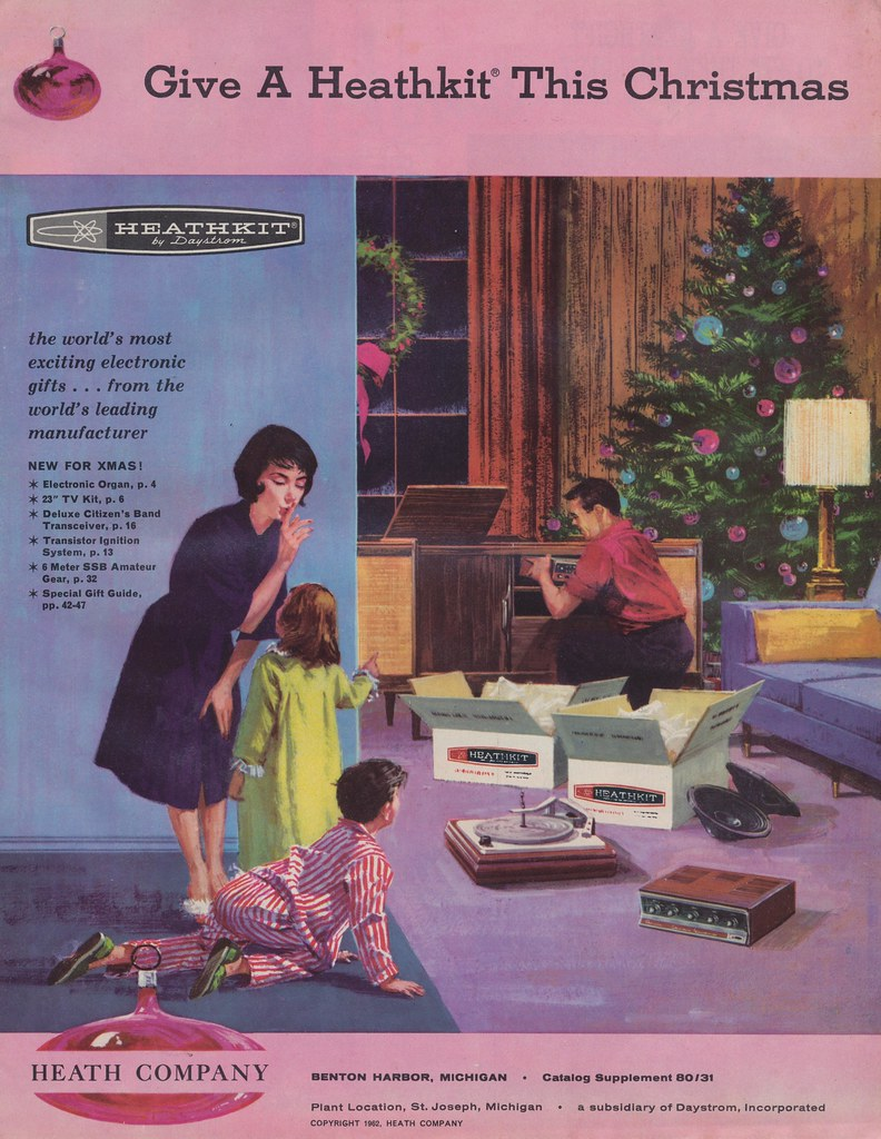 1962 Heathkit Christmas Catalog The World S Most