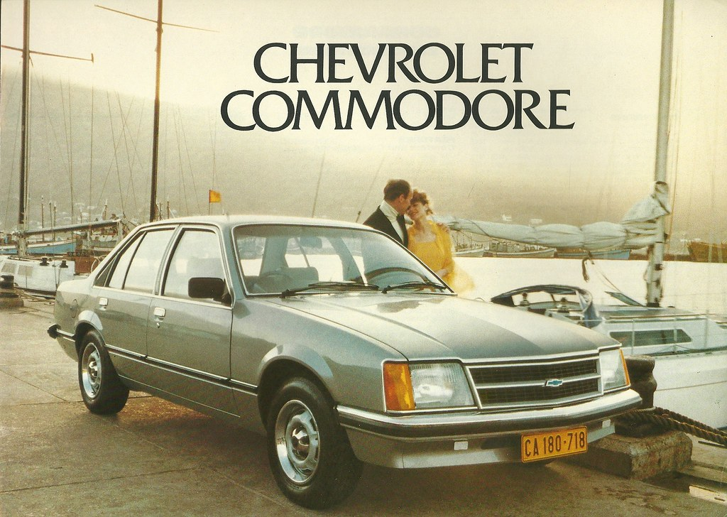 South Africa's Chevrolet | Chevrolet name was used in ...