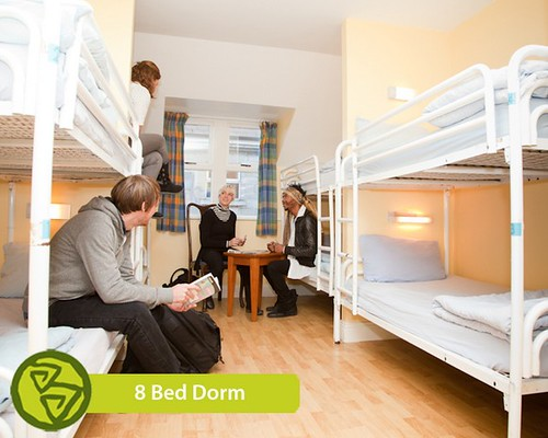 Barnacles Hostel Galway 8 Bed Dorm Room | by Barnacles Hostels