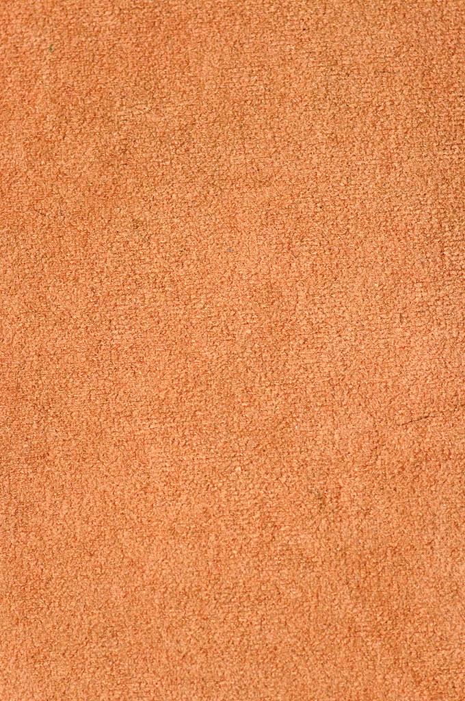 Texture Of Brown Fabric Similar To Velvet Close Up