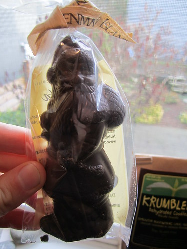 Chocolate Vegan Santa Clause | by veganbackpacker