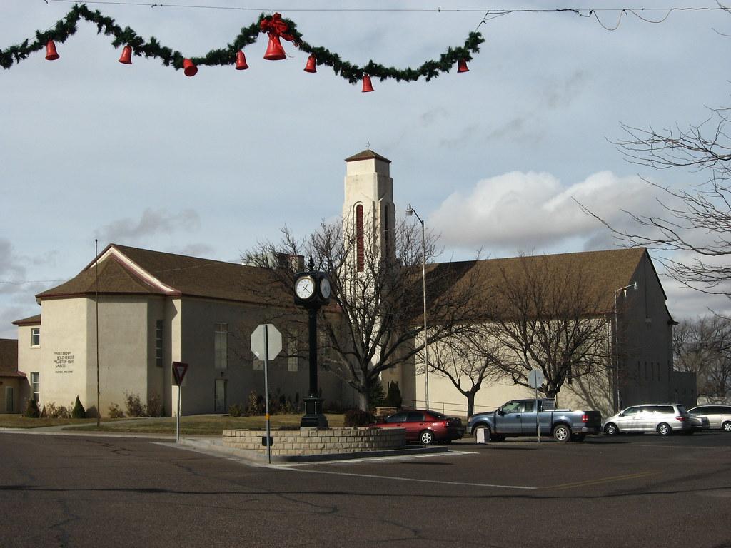 Latter Day Saint Meetinghouse St Johns Arizona St
