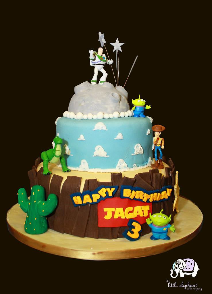 Jagats Birthday Cake Made By The Little Elephant Cake Com