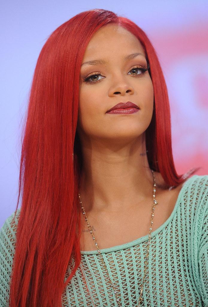Rihanna Rihanna At 106 Amp Park At Bet Studios New York