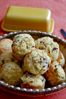 Orange, Cranberry and Cornmeal Muffins with Millet | by Let Her Bake Cake