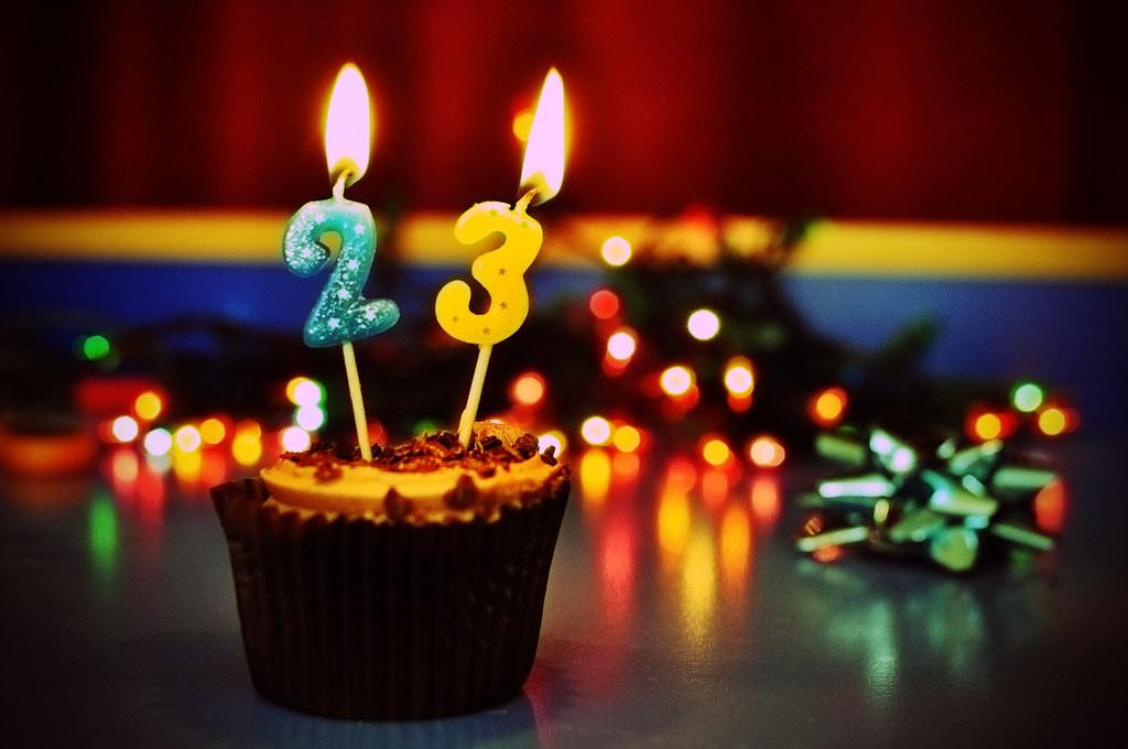 День рождения поздравления 23 года
