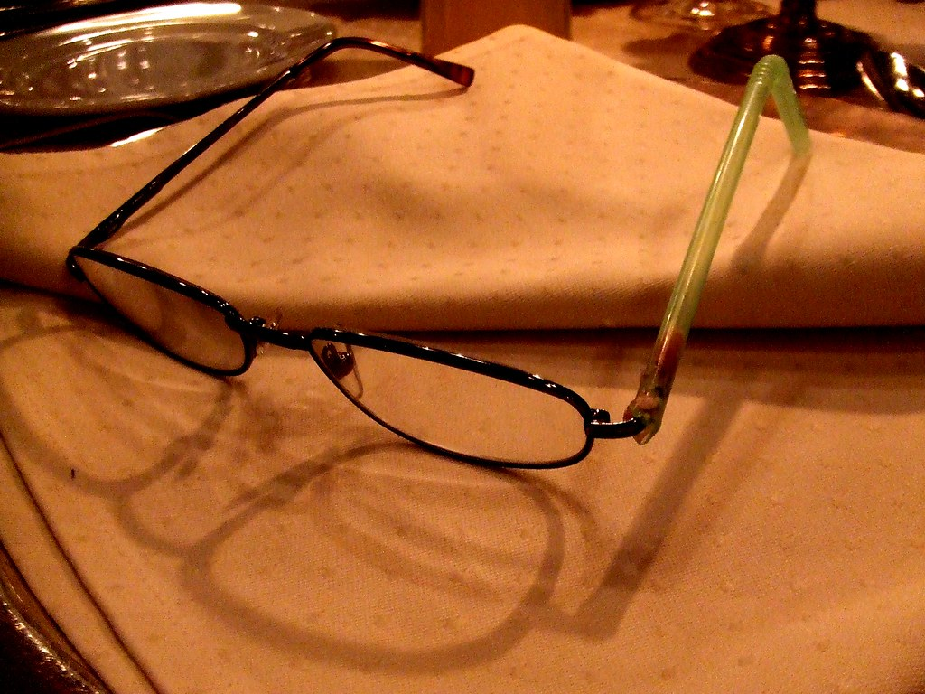 Glasses Frame Bent How To Fix : How to repair glasses when you break and loose an arm ...