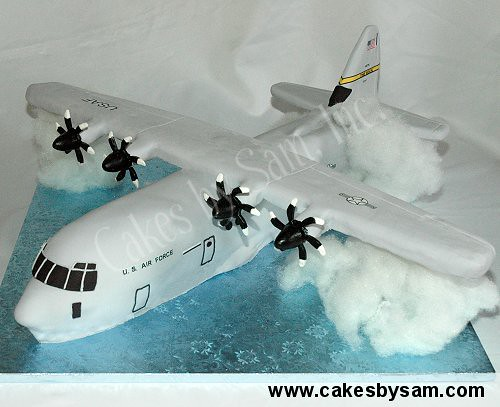 How To Make A D Airplane Cake