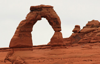 Delicate Arch from the upper viewpoint | by Alaskan Dude