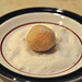 Roll ball of dough in granulated sugar