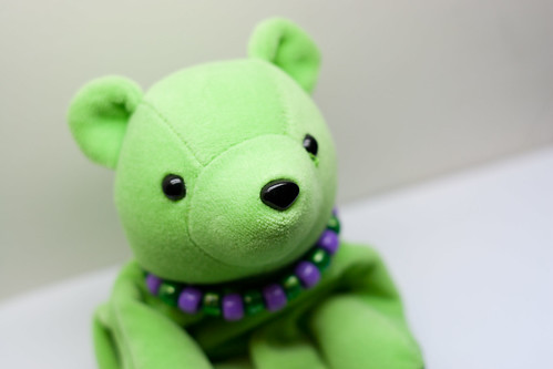 Dudley the Green Bear | by BenGrantham
