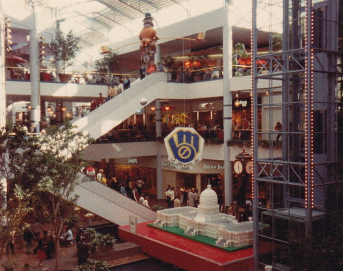 grand avenue mall milwaukee 1982 flickr photo sharing