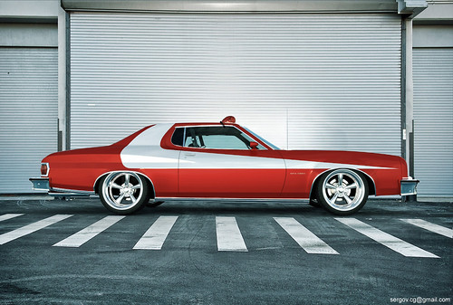Ford Gran Torino Starsky & Hutch CGI | Flickr - Photo Sharing!