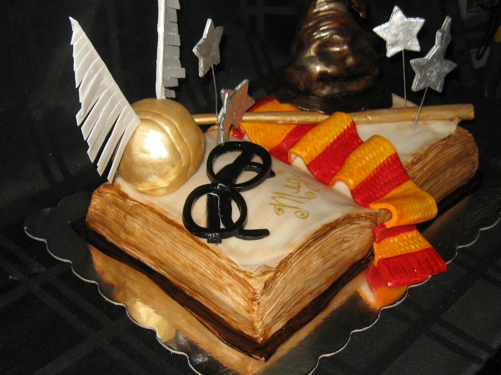 How To Make Harry Potter Book Cakes