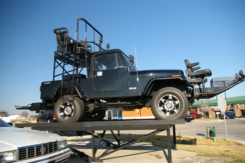 jeep scrambler cj 8 safari special 2010 collins bros. Black Bedroom Furniture Sets. Home Design Ideas