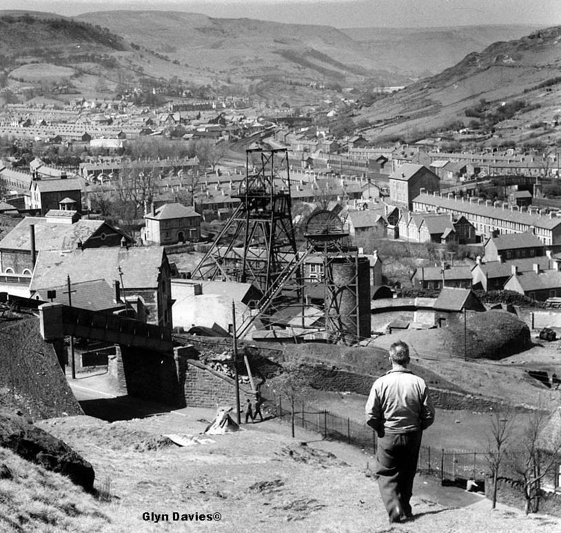 Gelli Colliery, Gelli, Rhondda Fawr, South Wales 1950s | Flickr ...