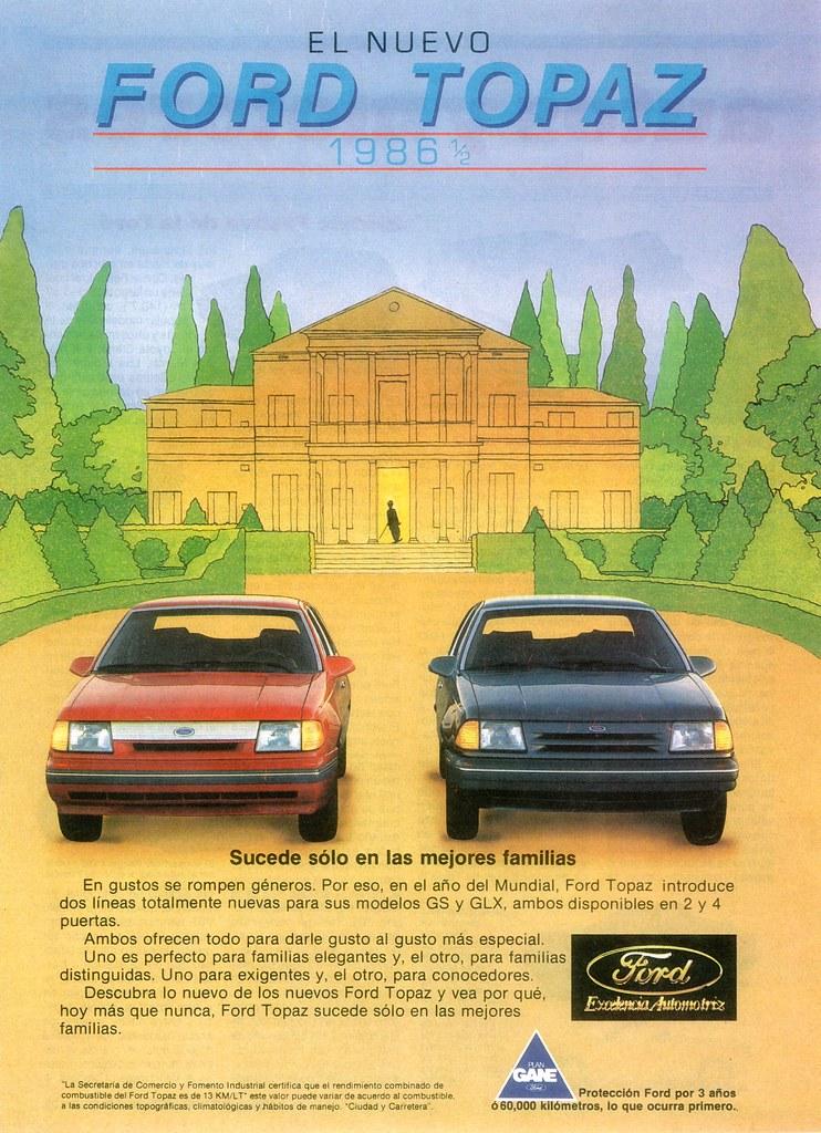 Ford Topaz Mexico