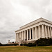 Lincoln Memorial - Cold and Cloudy Day