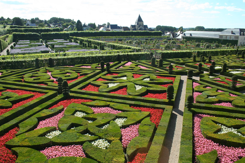 jardin francais french gardens in villandry a great exa flickr