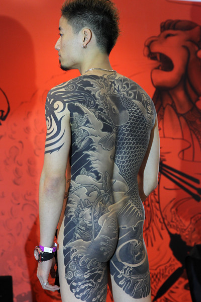 Singapore tattoo art culture show 2010 bertrand linet for Tattoo singapore forum