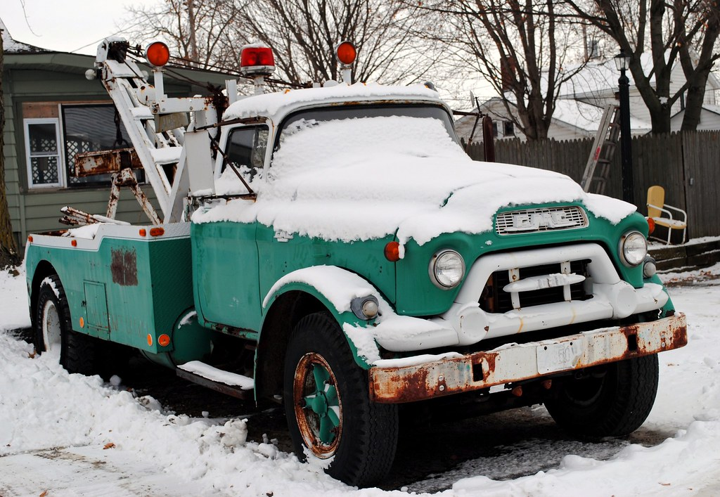 Gmc Tow Truck Whitewater Wisconsin Cragin Spring Flickr