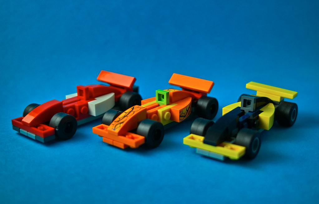 Lego mini F1 Cars | song zhen | Flickr