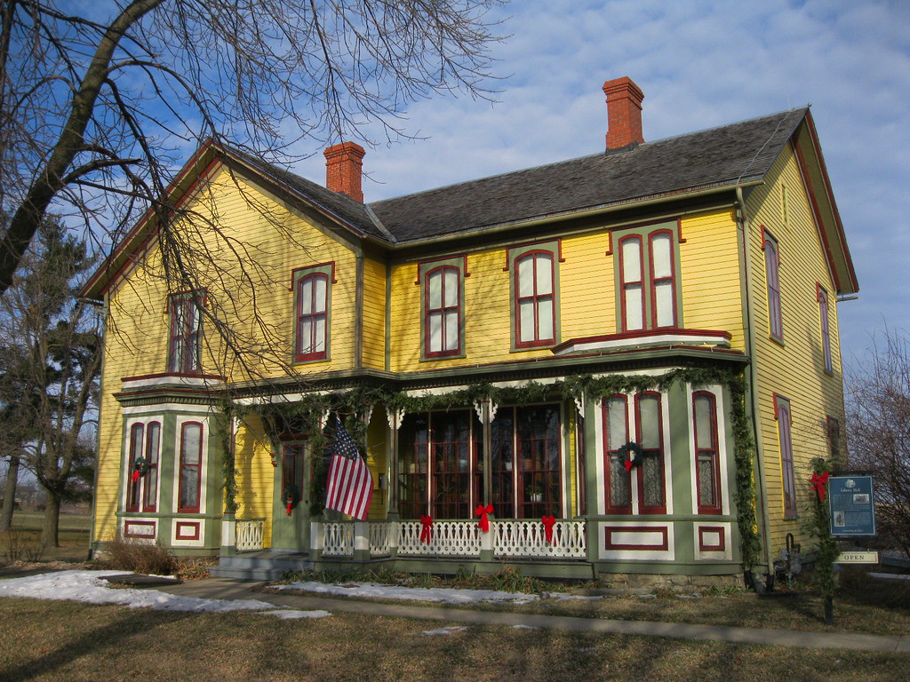 Liberty Hall, Lamoni Iowa a historic site, open to the pub u2026 Flickr