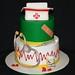 Nurse Grad Cake