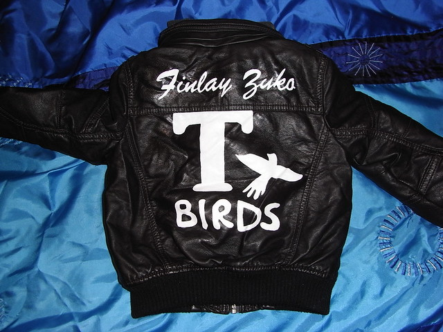 Child's Grease T Birds Jacket