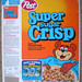 1983 Post Super Sugar Crisp Cereal Box Front