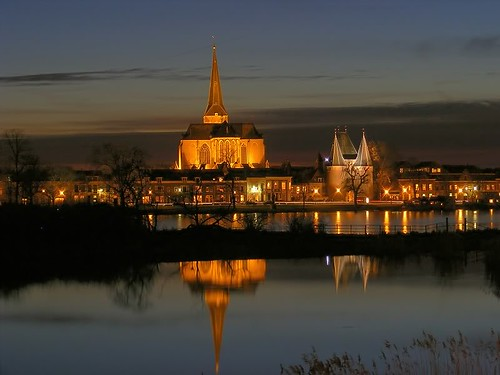 kampen bovenkerk met poort flickr photo sharing