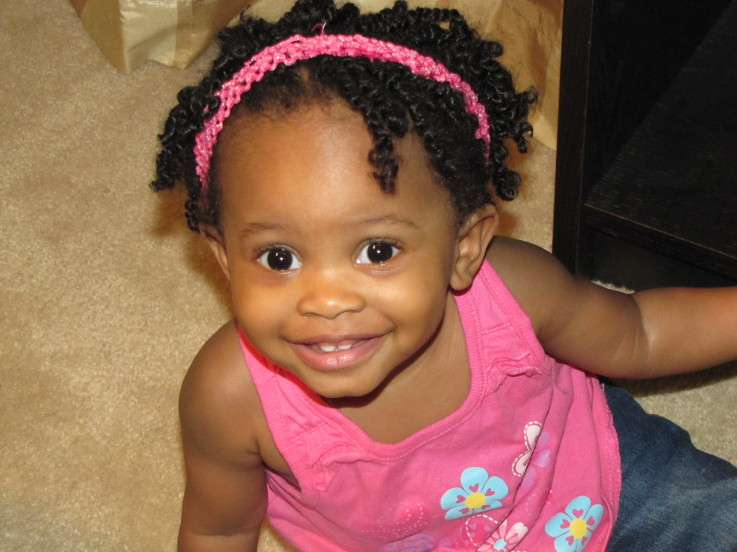 Little Girl Two Strand Twist Hairstyle