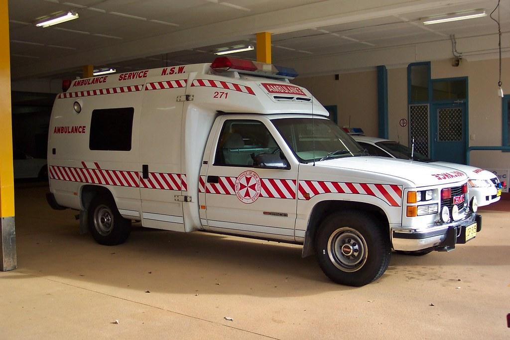 1997 Gmc 2500 Ambulance 1997 Gmc 2500 Ambulance