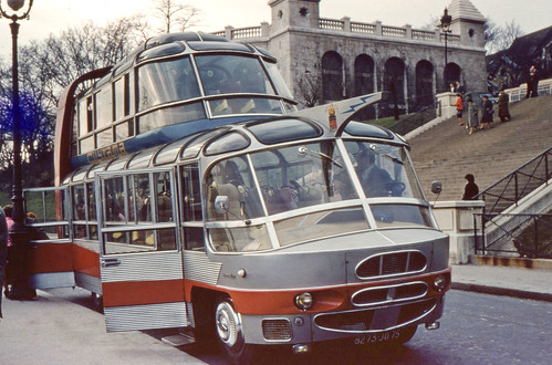 Citroen U55 Cityrama Currus  Paris | by Jan 1968